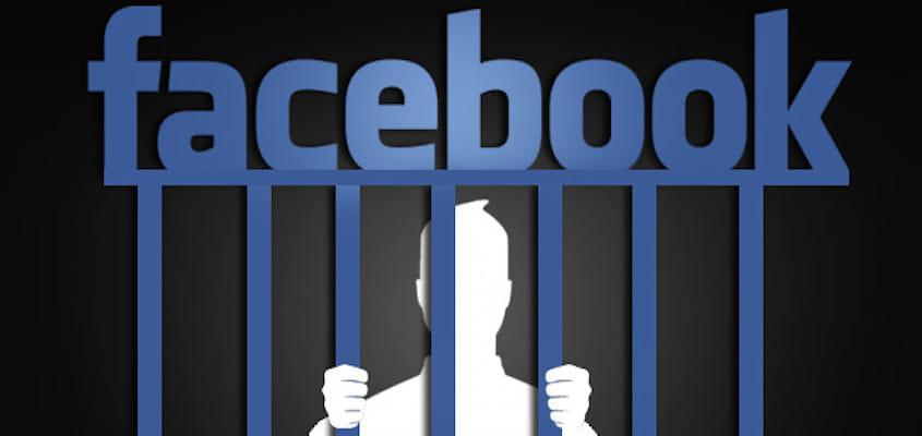 Prison Facebook ou blocage temporaire